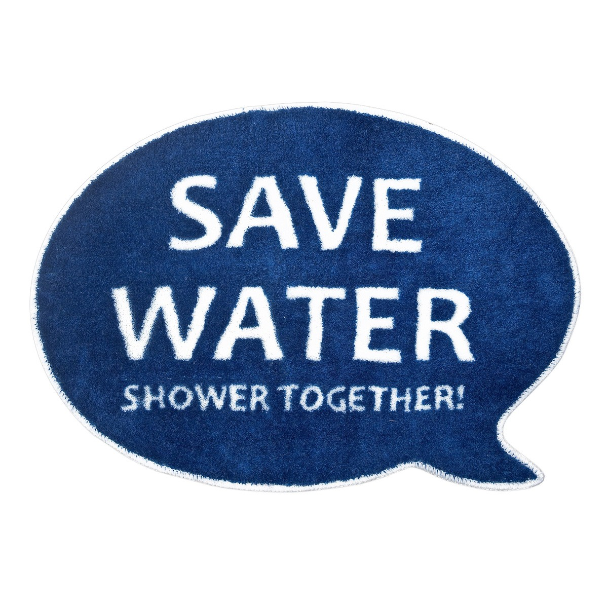 "Dywanik łazienkowy ""Save water! Shower together!"""