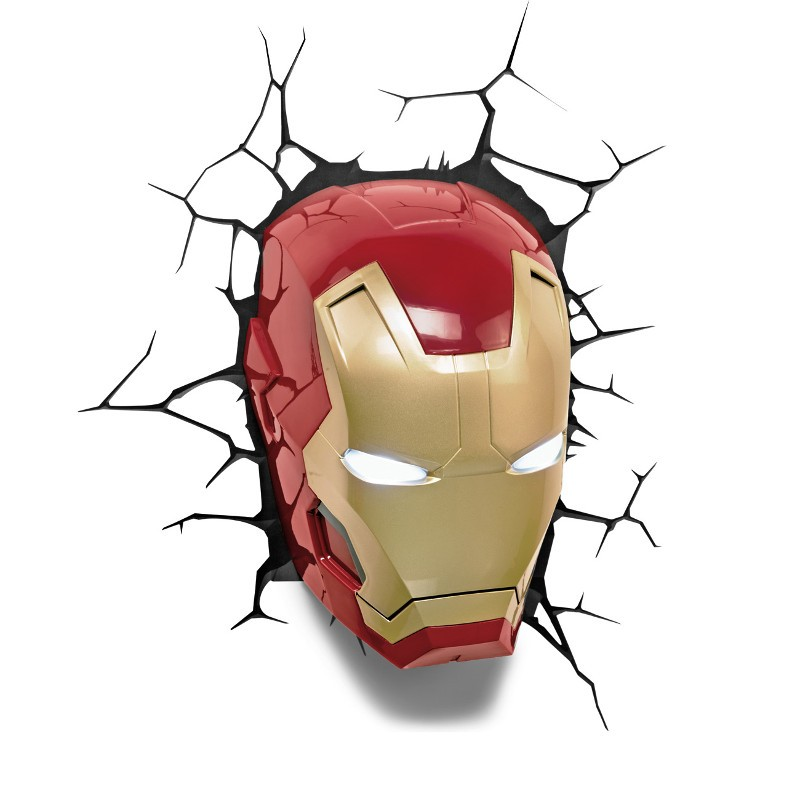 Lampa 3D Iron Man