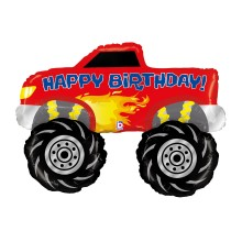 Balon z helem Monster Truck