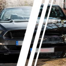 Ford Mustang (14') vs. Ford Mustang (15')  - Tor Poznań